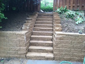 StoneStairs&RetainingWall